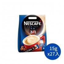 雀巢咖啡三合一減糖低脂 咖啡 低脂咖啡