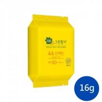 【綠手指】 Green Finger 幼兒滋潤防曬乳粉撲造型16g (造型粉撲補充包)