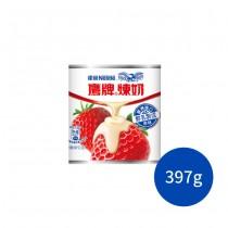 雀巢 鷹牌煉乳罐裝 煉奶 草莓