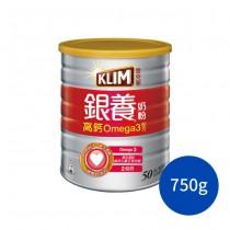 金克寧銀養奶粉-高鈣omega3 配方(高鈣Omega3) 雀巢 克寧 成人奶粉 即溶奶粉