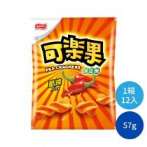 可樂果酷辣57g 豌豆酥 零嘴 零食