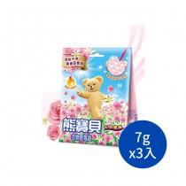 熊寶貝衣物香氛袋-花漾香氛